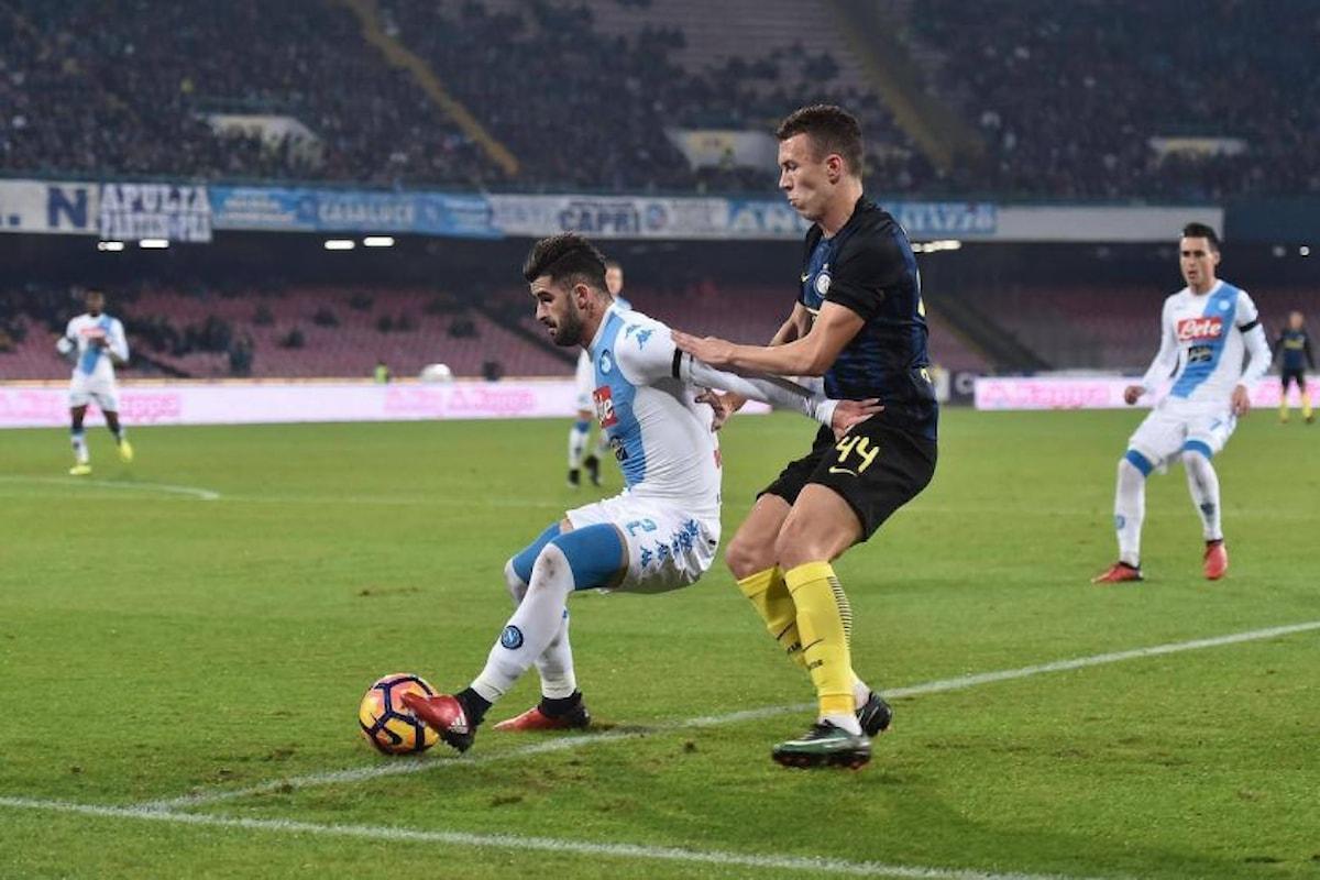 Il live di Inter-Napoli! Le formazioni ufficiali e a seguire gol e highlights del match!
