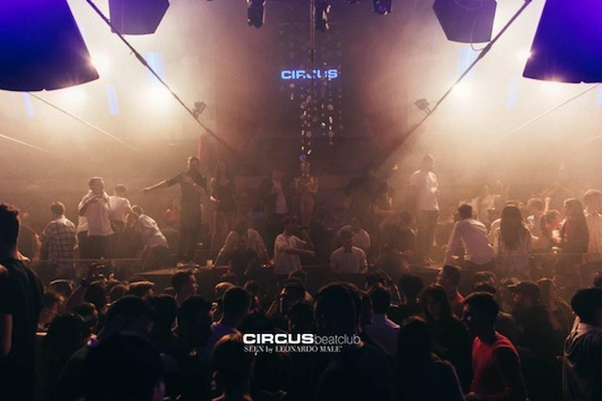 Circus beatclub Brescia: 28/3 Springbreakers, la Grande Sfida, 29/3 Rehab vs Flexin, 30/3 Circo Nero, 31/3 White Party, 1/4 Besame