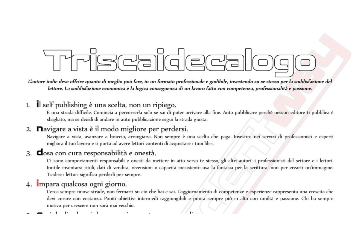 Un Triscaidecalogo per gli autori self, quali regole seguire?