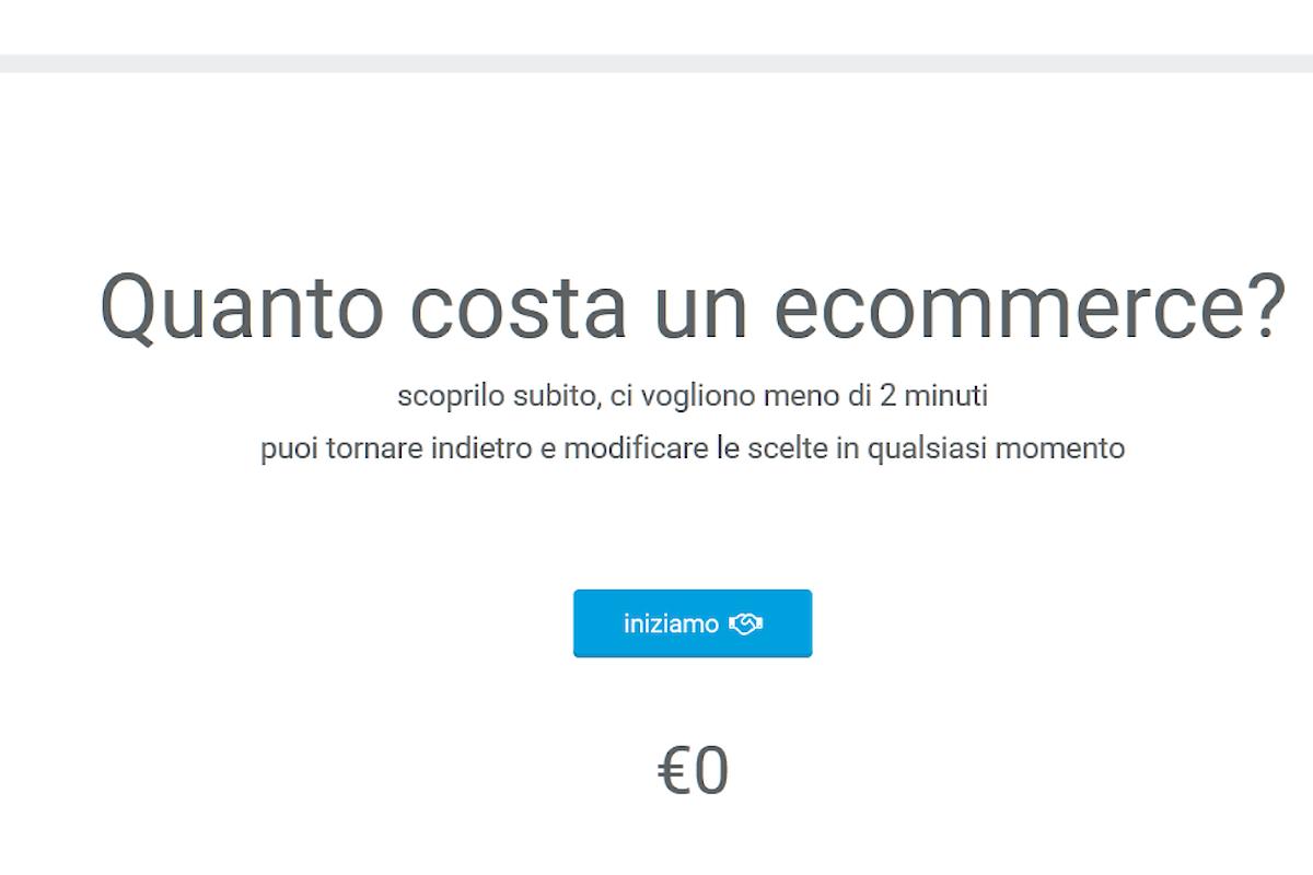 Preventivo per un sito e-commerce...