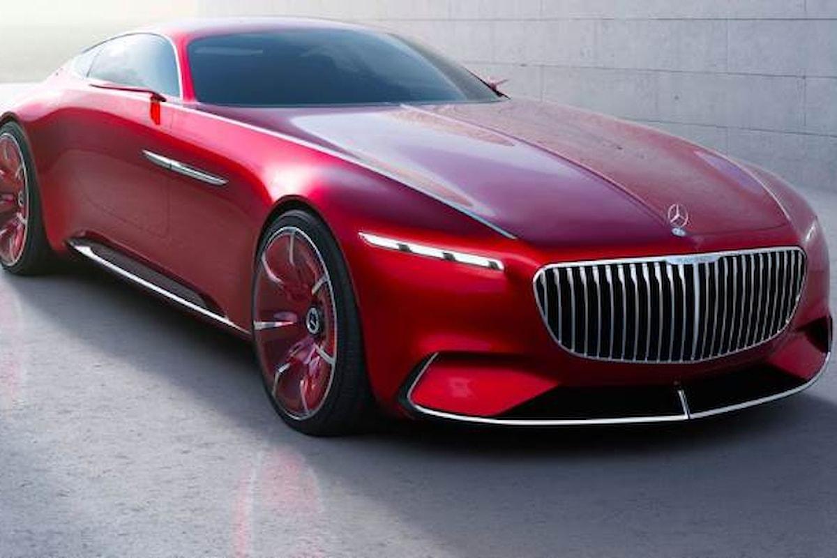Vision Mercedes-Maybach 6 ovvero come desiderare che sia l'auto del futuro