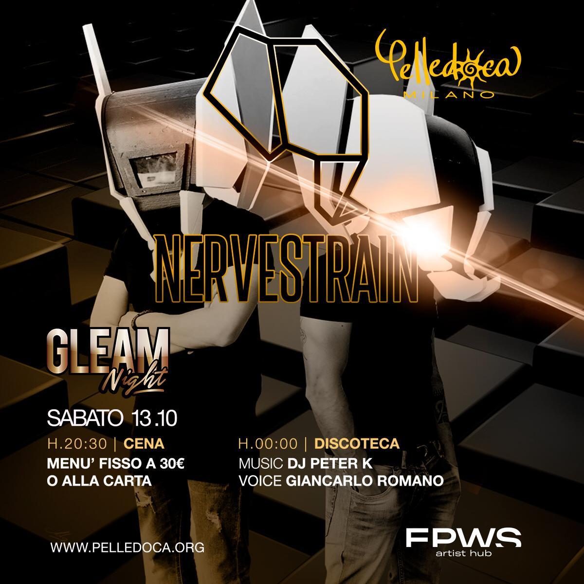 Il13 ottobre i Nervestrain per la Gleam Night del Pelledoca di Milano