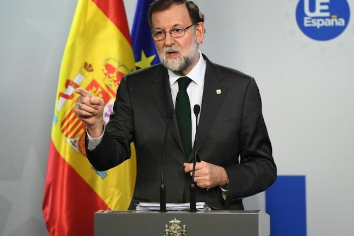 Rajoy conferma l'applicazione dell'articolo 155 ma senza anticiparne le misure