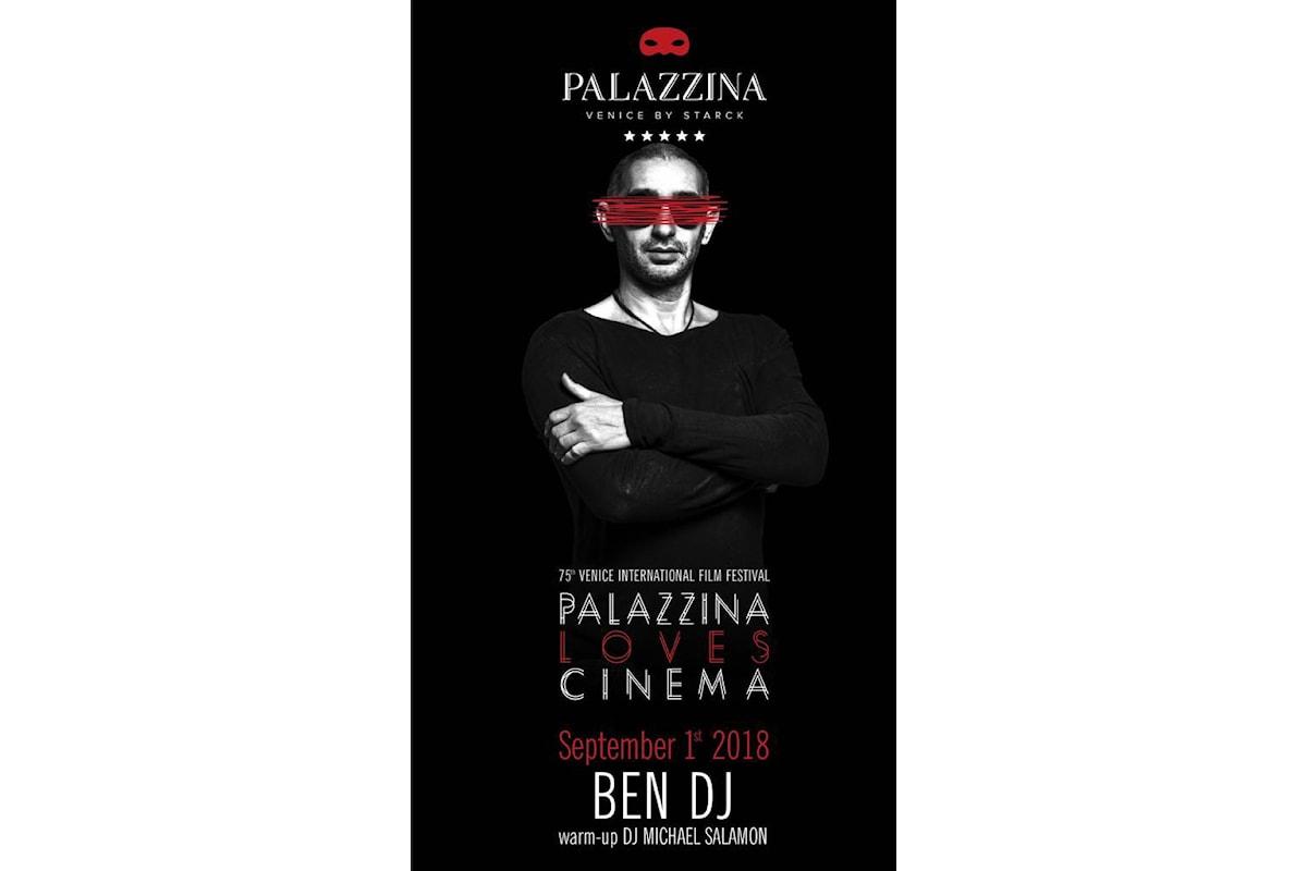 Ben Dj fa muovere a tempo Palazzina Grassi (Venice by Starck) per il Festival del Cinema di Venezia