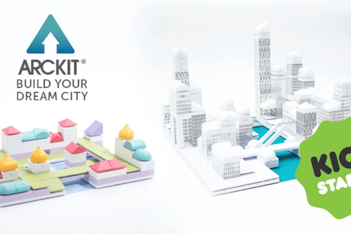 Arrivano su Kickstarter i nuovi kit di Arckit per costruire la città dei nostri sogni