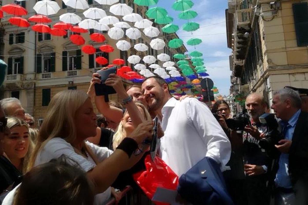 Salvini questo mese non deve riscuotere l'indennità da ministro
