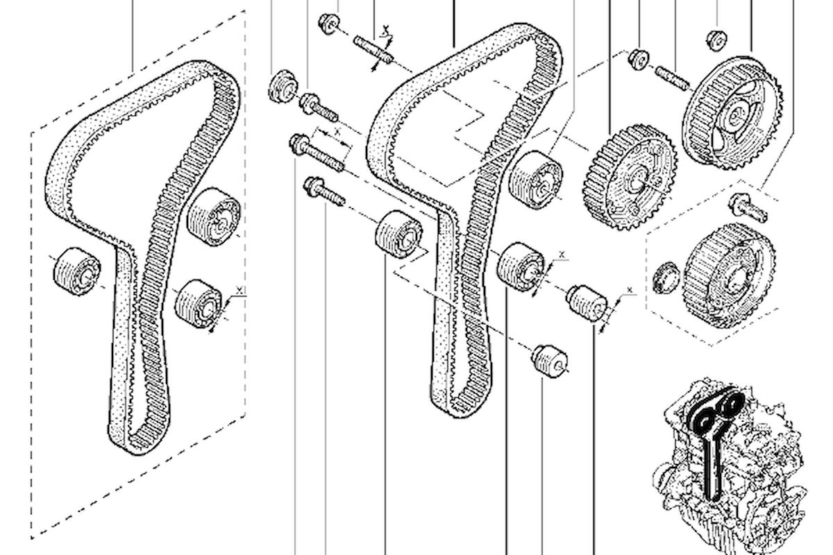 Auto: manutenzione impianto di distribuzione