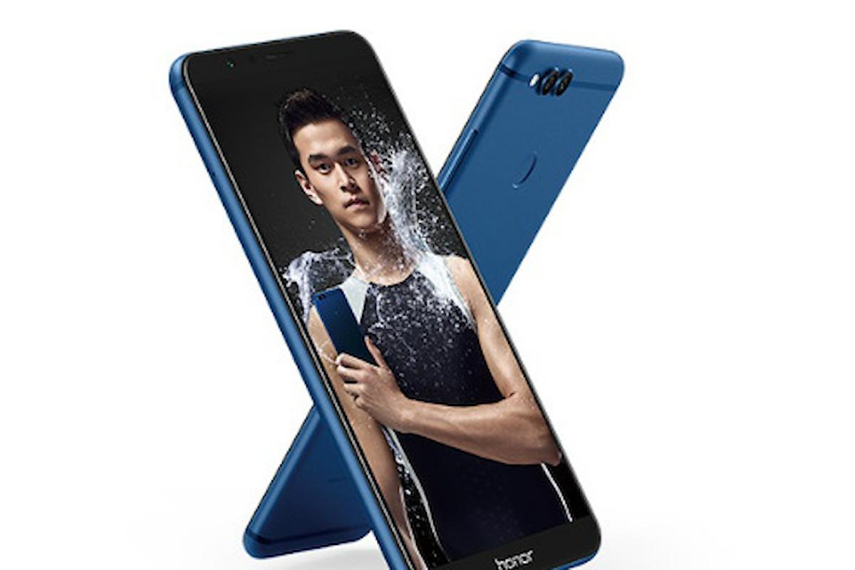 Huawei Honor 7X: svelate le caratteristiche principali