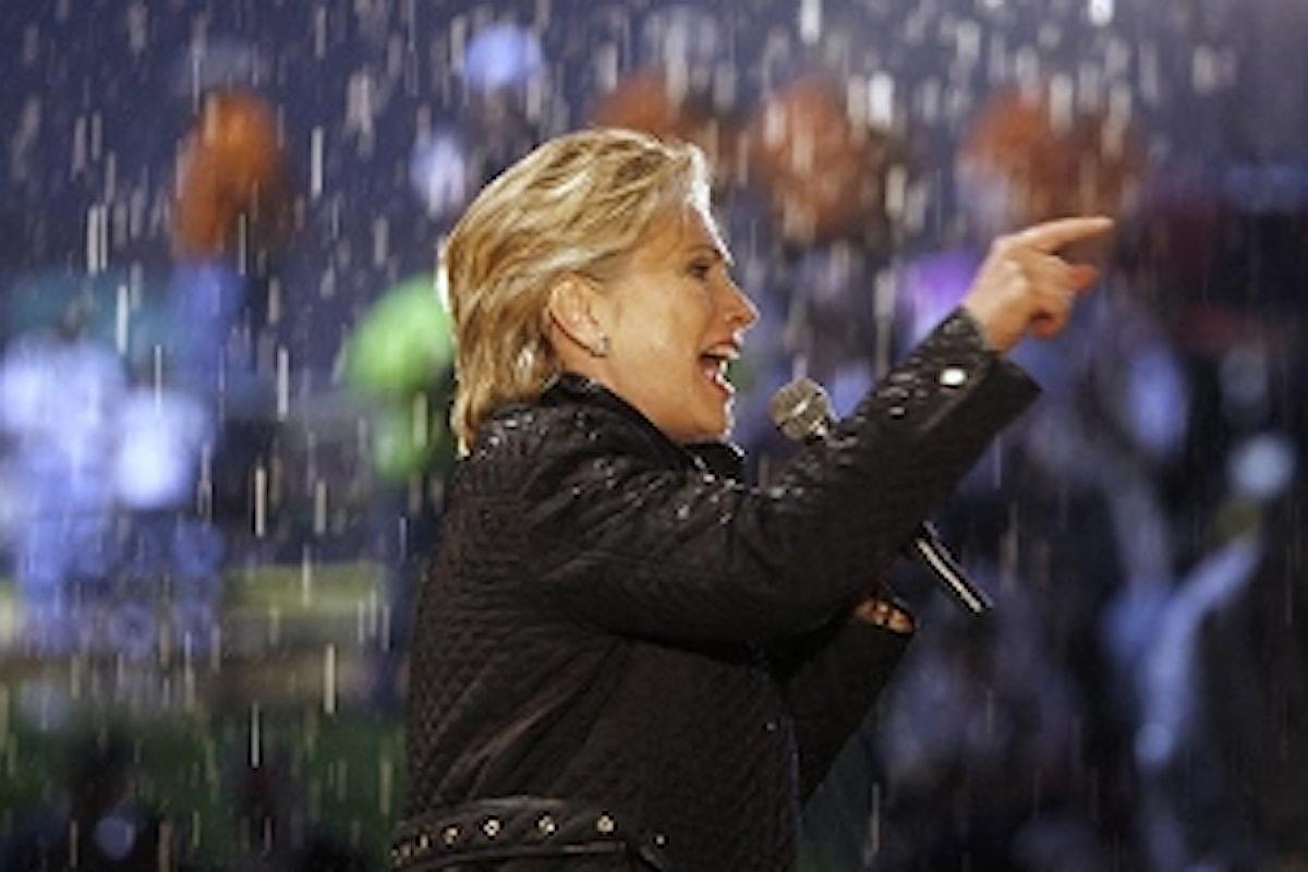 UNA DONNA ALLA CASA BIANCA: ora tocca a Hillary