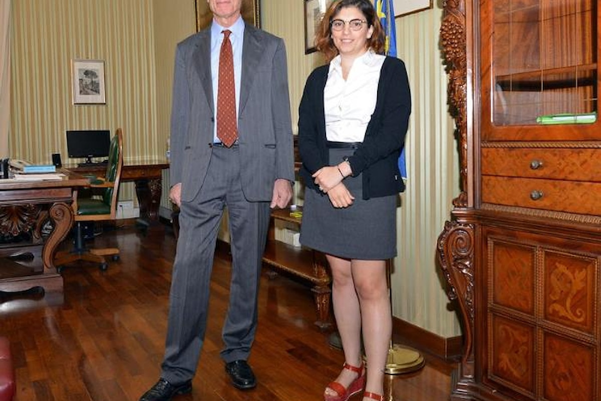 La viceministra Laura Castelli e la sinergia richiesta all'Istat