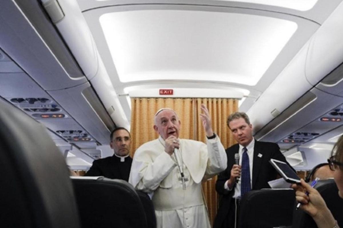 Bergoglio guarda ancora ad est e spera di andare in India già nel 2018