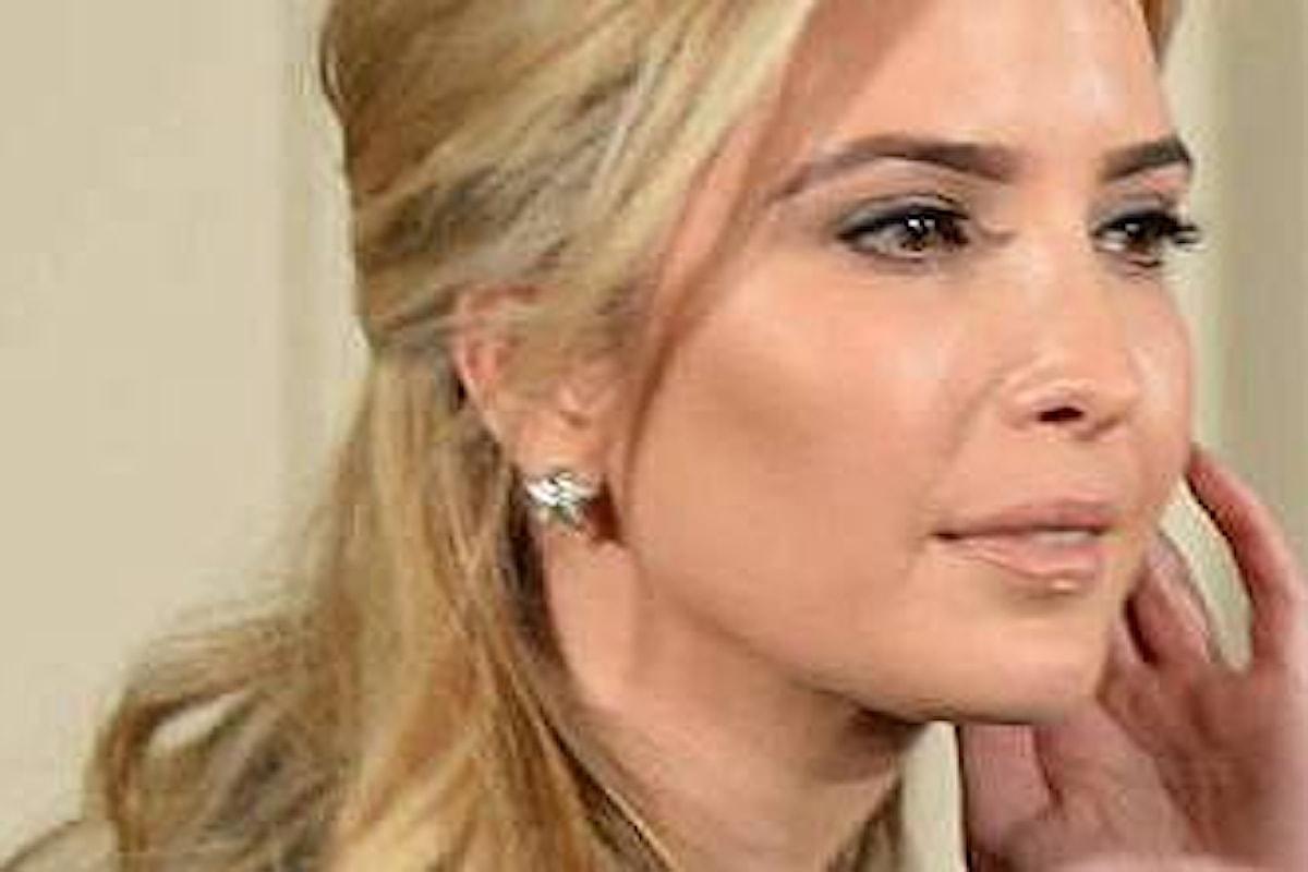 Chirurgia estetica IVANKA Trump! è il soggetto da copiare .. ma quella vera ha un ufficio SUO alla Casa Bianca
