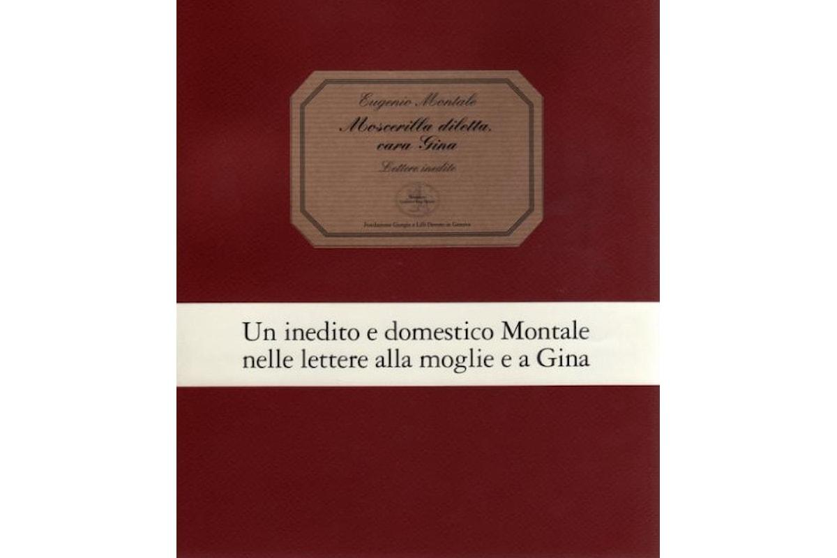 AL GHISLIERI LE LETTERE INEDITE DI EUGENIO MONTALE. Presentazione del volume 'Moscerilla diletta, cara Gina' (Ed. San Marco dei Giustiniani, 2017)