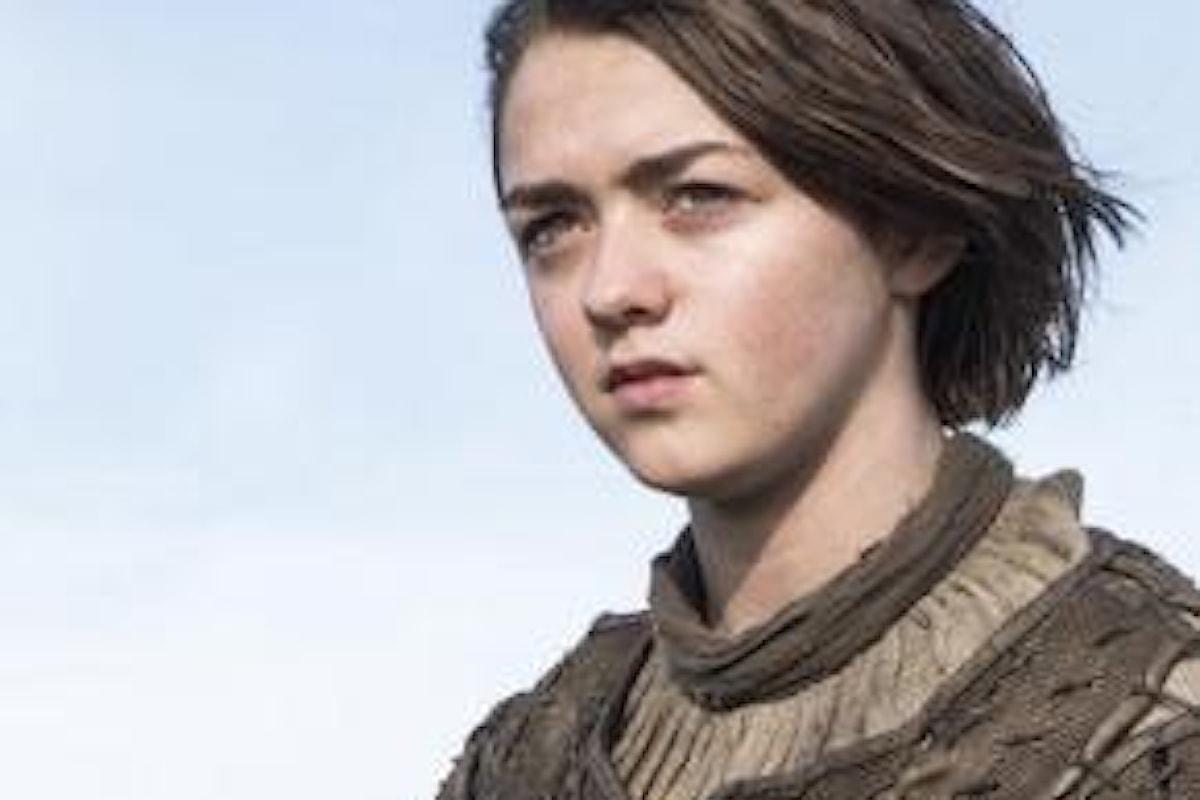 Il Trono di Spade 7: Arya Stark non ha ancora vendicato le Nozze Rosse