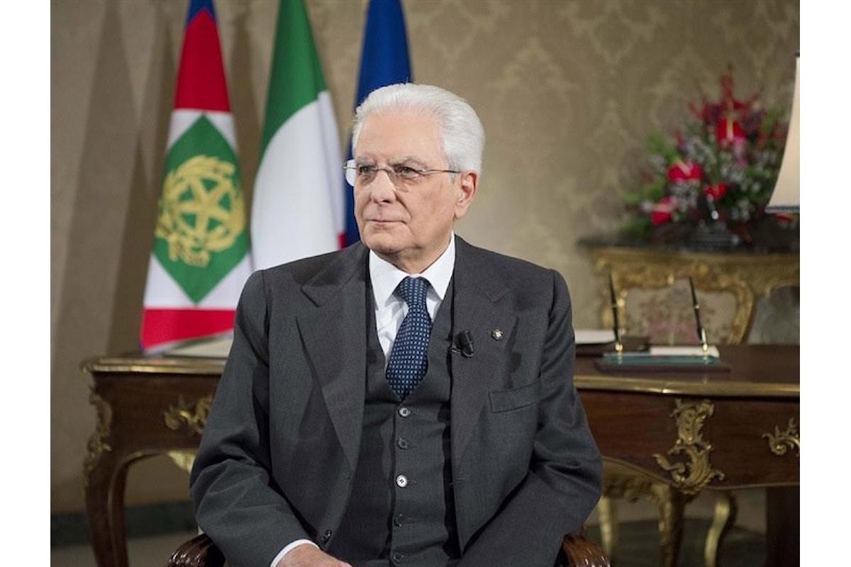 L'ipocrita Mattarella ed il suo richiamo alla responsabilità nei confronti della Repubblica nel discorso di fine d'anno