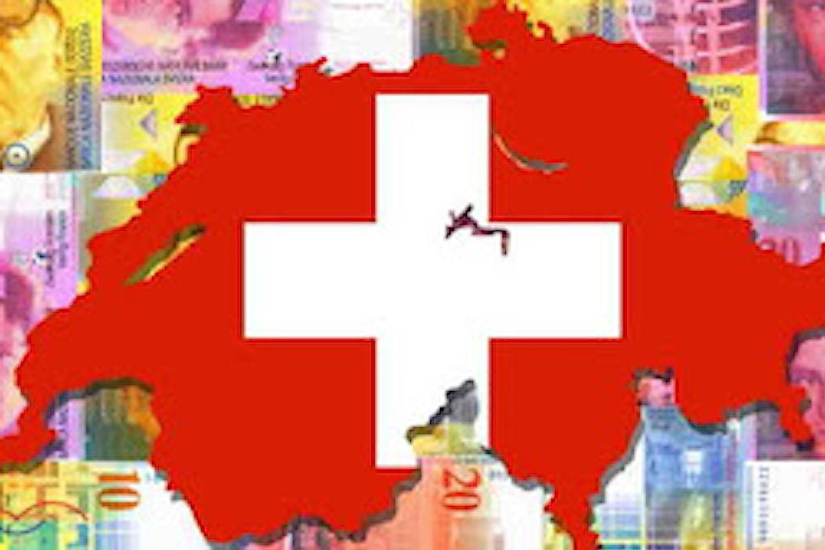 Il ritorno al rischio sui mercati penalizza le valute rifugio: CHF giù