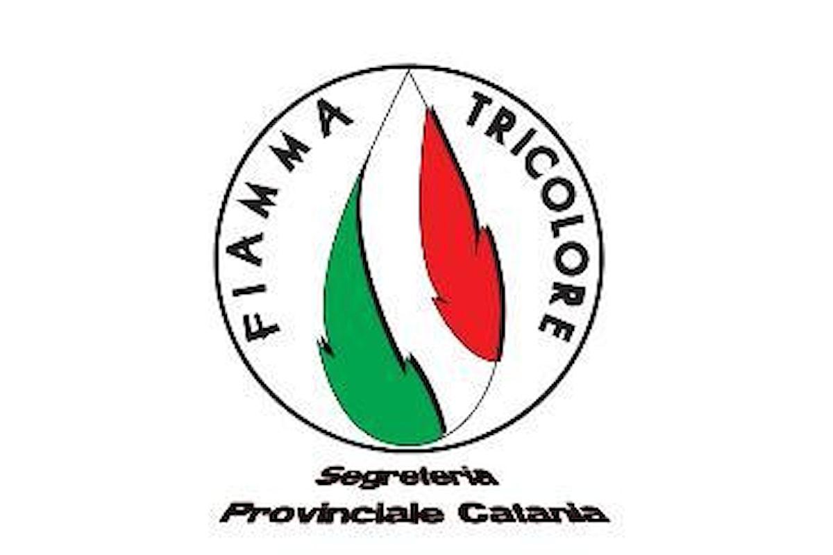 Fiamma Tricolore sullo scioglimento del Comune di Trecastagni (CT)
