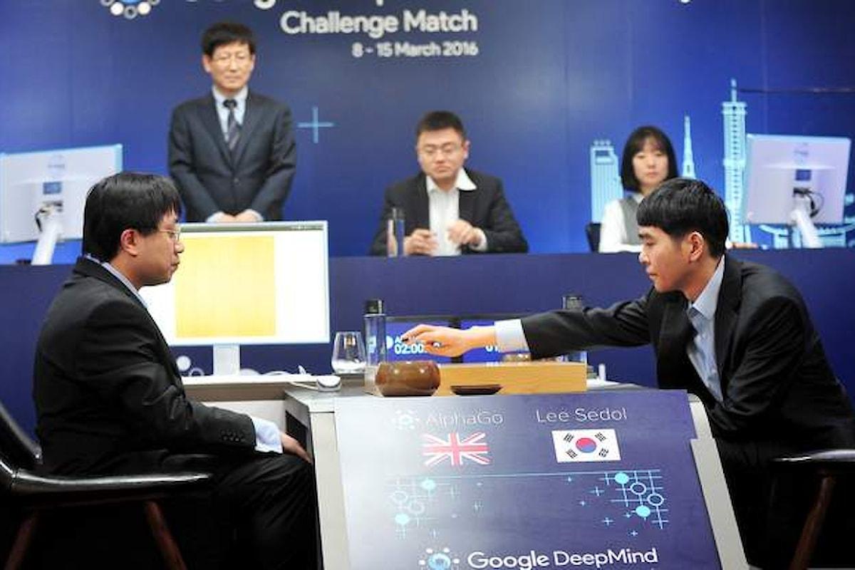 Il software AlphaGo sconfigge Grande Maestro di Go