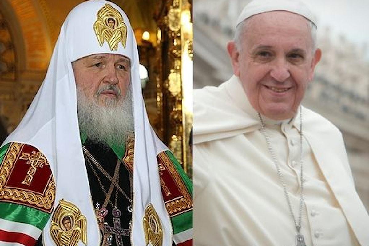 Papa Francesco e Patriarca Kirill: incontro a Cuba il 12 febbraio