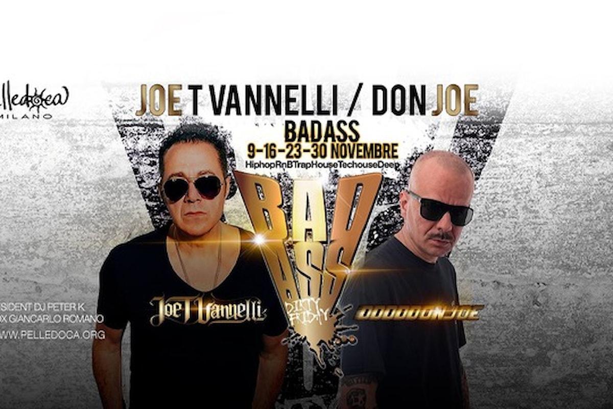 Badass fa scatenare Pelledoca Milano con Vannelli e Don Joe