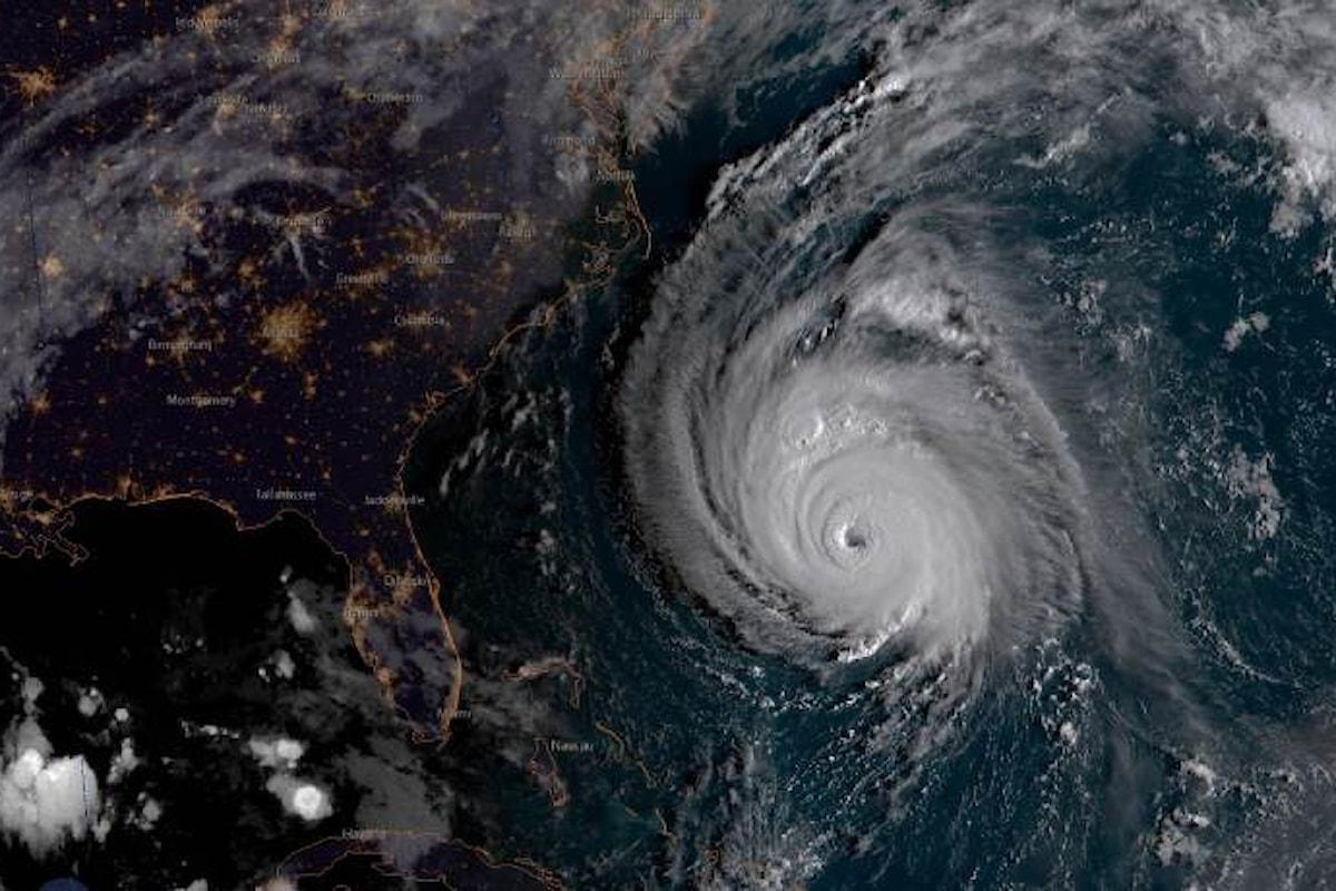 È atteso per le prime ore di venerdì l'arrivo dell'uragano Florence sulla costa est degli Stati Uniti