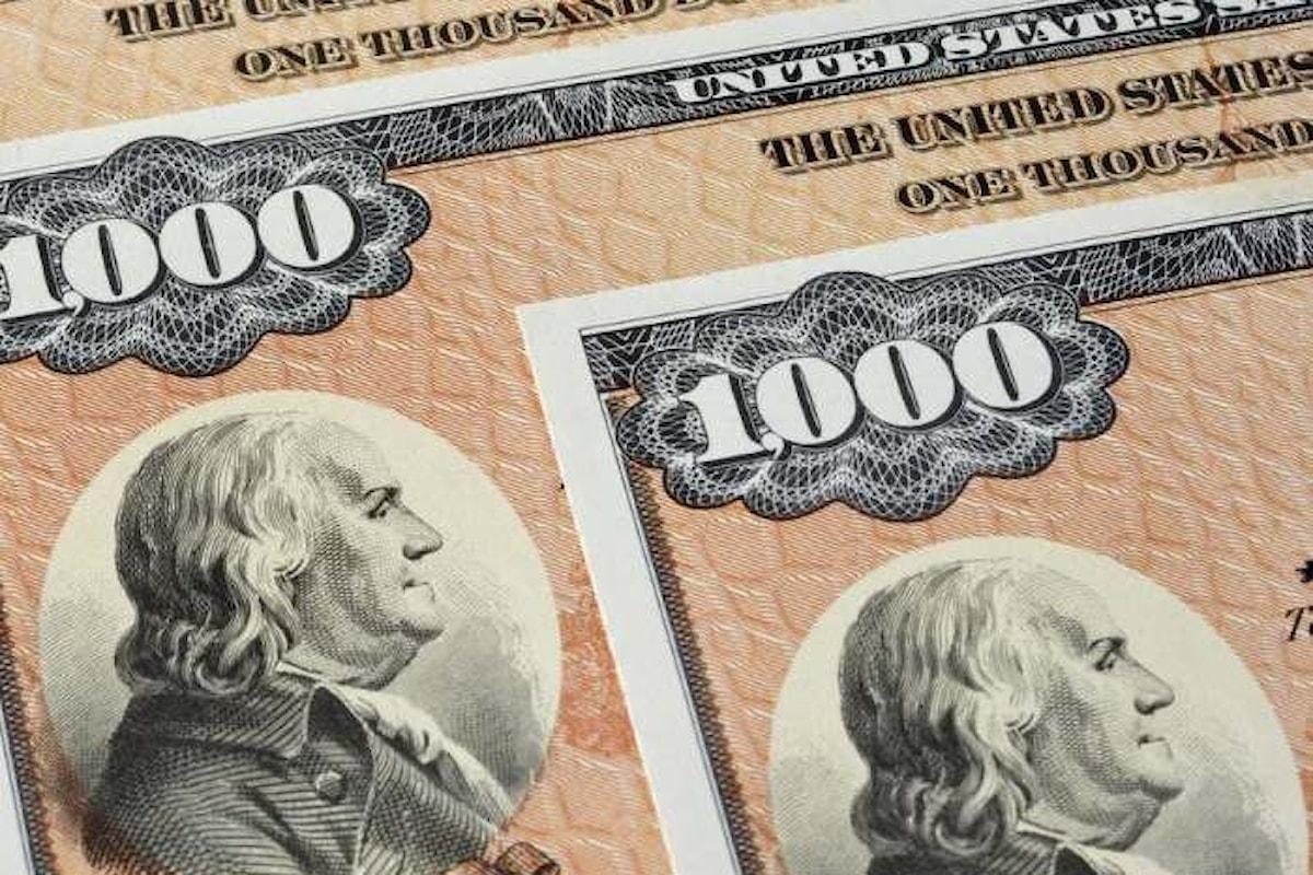 Titoli di Stato USA, balzo dei rendimenti a causa dell'inflazione