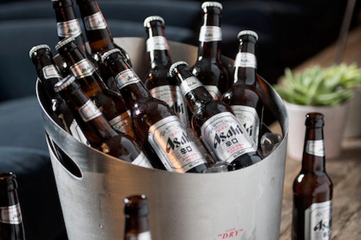 Lanciata in Italia la birra numero uno in Giappone, Asahi Super Dry