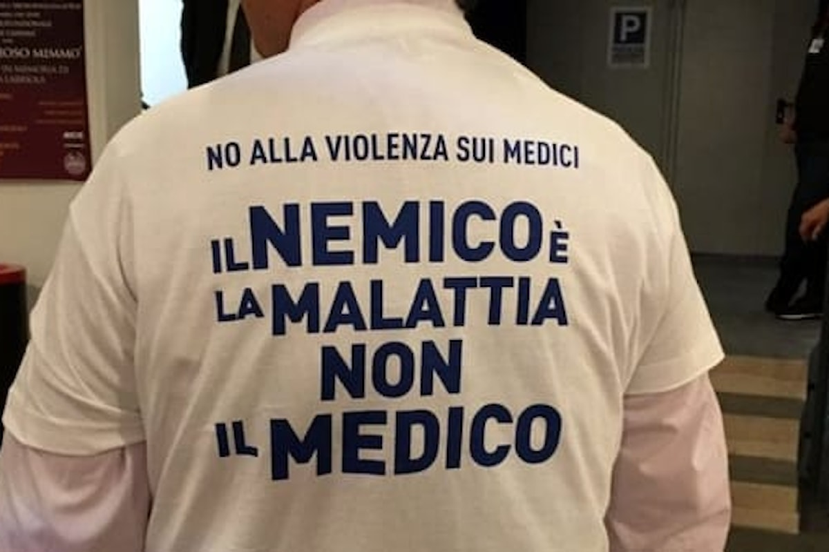 Da Bari l'allarme dei medici contro la violenza sugli operatori sanitari