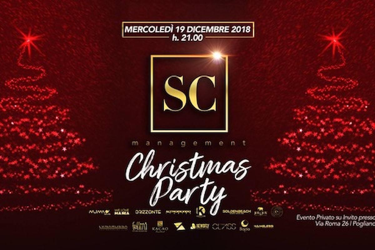 SC Management, Christmas Party al Fellini per celebrare un 2018 di successi