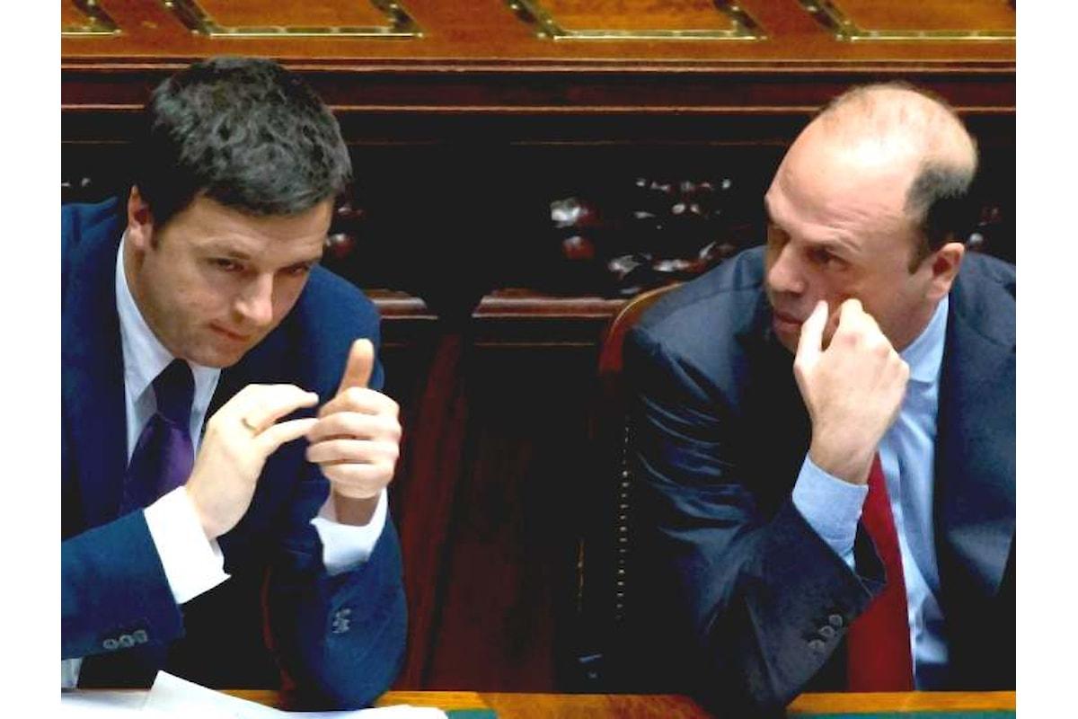 Ddl Cirinnà: Renzi si arrende ad Alfano ed ai cattolici del PD