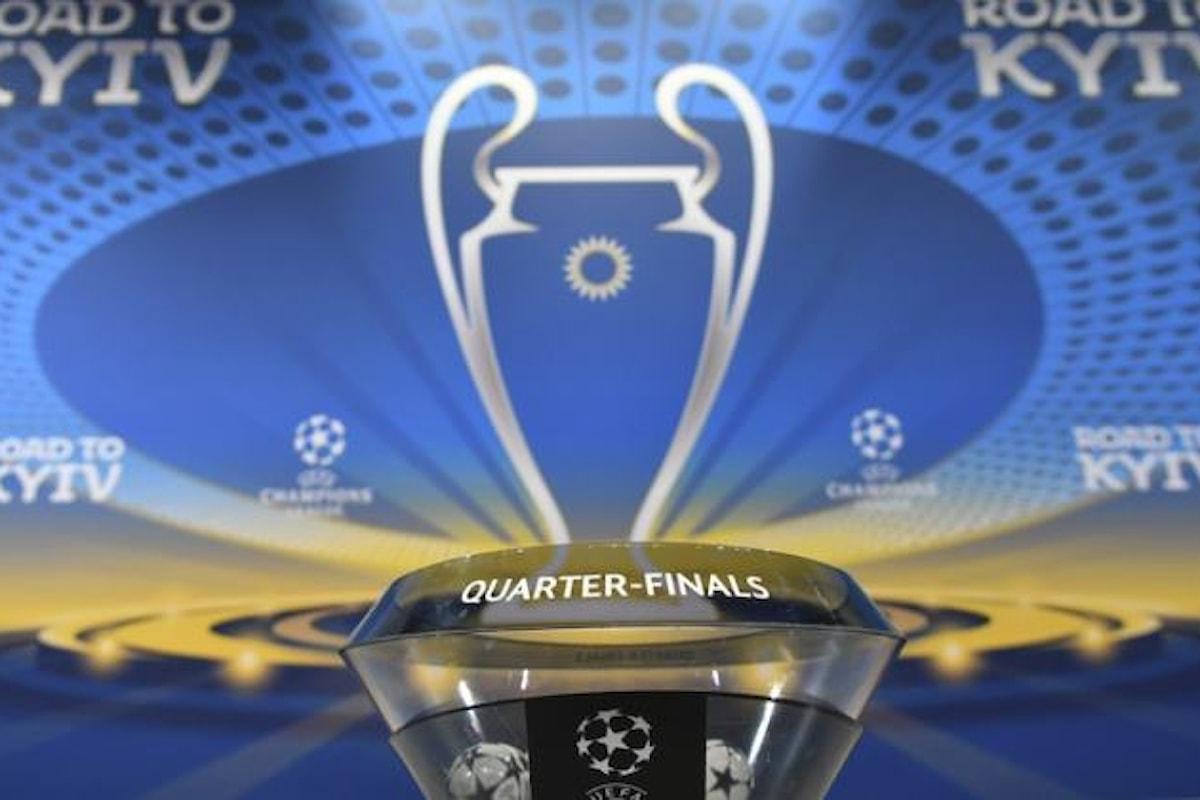 I sorteggi per i quarti delle Coppe Europee. Sfide complicate per Roma e Juventus, più fortunata la Lazio